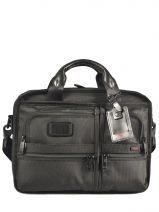 Briefcase 3 Compartments Tumi Black alpha DH26120