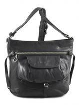 Shoulder Bag Soft Vintage Nova Leather Lancaster Black soft vintage nova 5761