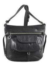 Shoulder Bag Soft Vintage Nova Leather Lancaster Black soft vintage nova 5761