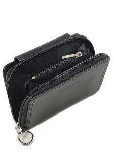 Wallet Leather Lancaster Black versailles - 00193012-vue-porte