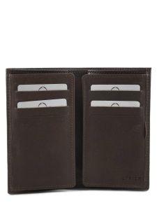 Card Holder Leather Etrier Green dakar 200006-vue-porte