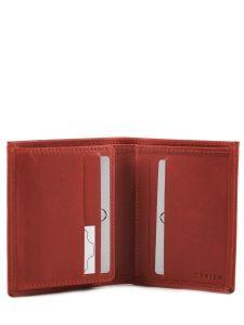 Card Holder Leather Etrier Red dakar 200015-vue-porte