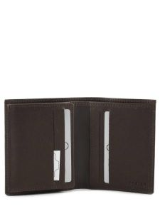 Card Holder Leather Etrier Brown dakar 200015-vue-porte