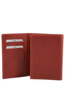 Wallet Leather Etrier Red dakar 200024-vue-porte