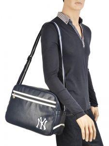 Crossbody Bag A4 Mlb/new-york yankees Blue home run MLC25346-vue-porte
