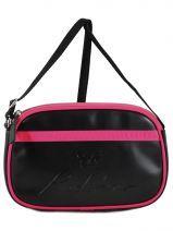 Crossbody Bag Redskins Black color blocks RD16155