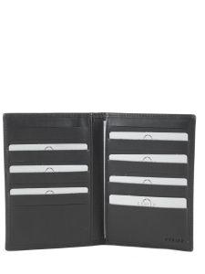 Wallet Leather Etrier Black dakar 200439-vue-porte