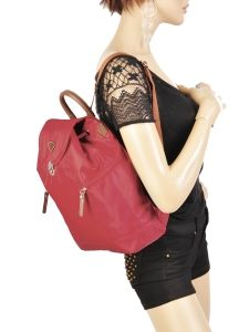 Backpack Jump Red 6525-vue-porte