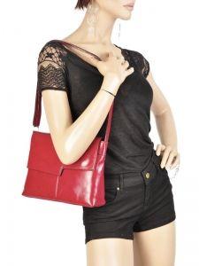 Shoulder Bag Collet Milano Red collet 008-vue-porte
