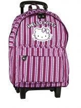 Sac A Dos A Roulette Hello kitty Rose rainbow heart HPC22045