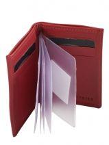Porte-cartes Cuir Etrier Rouge dakar 200013-vue-porte