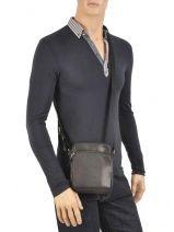 Crossbody Bag Lancaster Black soft vintage homme 10-vue-porte