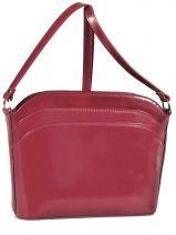 Shoulder Bag Collet Leather Milano Red collet P03