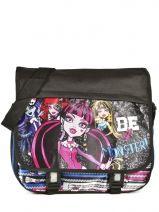 Messenger Bag Monster high Black be a monster MOH37112