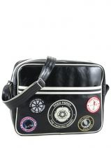 Crossbody Bag A4 Fred perry Black authentic L3174