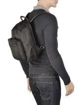 Backpack Francinel Black 8071-vue-porte