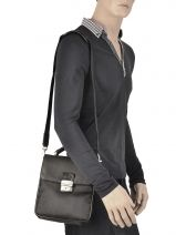 Messenger Bag Francinel Black 8078-vue-porte