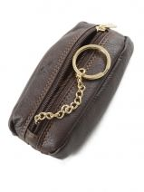 Purse Leather Katana Brown marina 753095-vue-porte