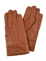 Gloves Omega Brown laine 717