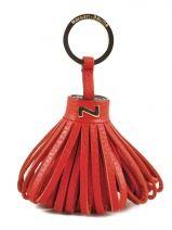 Porte-clefs Cuir Nathan baume Rouge original n 100100N