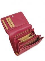 Wallet Leather Katana Pink basile 853105-vue-porte
