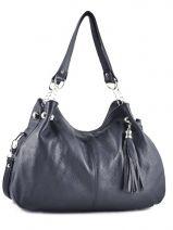Shopper  Leather Milano Blue 183