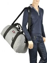 Sac De Voyage Authentic Luggage Eastpak Gris authentic luggage Station: K070-vue-porte