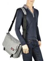 Crossbody Bag A4 Delegate Eastpak Gray K076-vue-porte