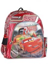 Backpack 1 Compartment Cars Red formula racers 22210