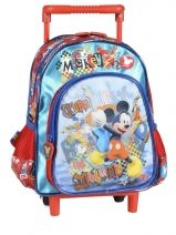 Sac A Dos A Roulettes 1 Compartiment Mickey Multicolore ultimate 50416C