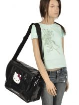 Crossbody Bag Hello kitty Black classic dot