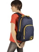 Backpack 1 Compartment Converse Blue allstar PB314670-vue-porte