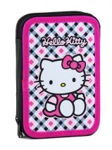 Trousse Equipee Hello kitty Multicolore college PWDHK34