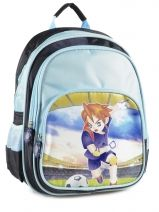 Backpack 2 Compartments Miniprix Blue boy 7710-FOO