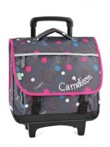 Cartable A Roulettes 2 Compartiments Cameleon Multicolore basic girl 14F2CA38