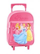 Sac A Dos Roulettes 1 Compartiment Princess Rose flower 1145