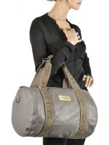 Shoulder Bag A4 Gallantry Gray G269-vue-porte