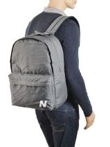 Backpack 2 Compartments New balance Gray essentials 37384170-vue-porte