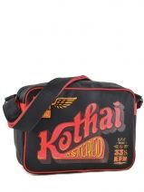 Crossbody Bag A4 Kothai Black reporter RU3