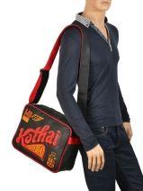 Crossbody Bag A4 Kothai Black reporter RU3-vue-porte