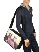 Crossbody Bag A4 Kothai Multicolor reporter RU16-vue-porte