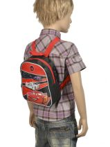 Backpack Cars Multicolor hot pursuit D56054-vue-porte