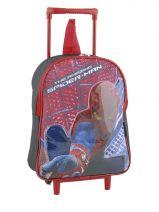 Sac à Dos à Roulettes Spiderman Multicolore ultimate 14537