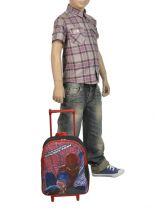 Wheeled Backpack Spiderman Multicolor ultimate 14537-vue-porte