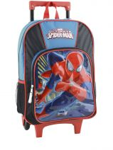 Sac A Dos A Roulettes Spiderman Multicolore ultimate 104186