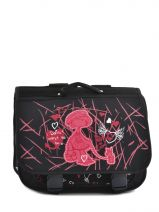 Satchel 2 Compartments Miniprix Black dance 8703