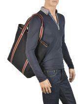 Shoulder Bag Fred perry Black authentic L5213-vue-porte