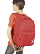 Backpack 1 Compartment Converse Red allstar 38670074-vue-porte