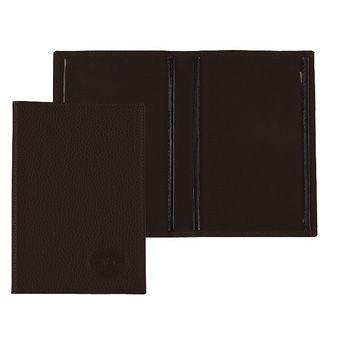 Longchamp Veau foulonné Bill case / card case Brown