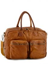 Porte Document Cuir Basilic pepper Marron rodeo 730